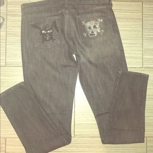 Citizens of humanity jeans  with skull bunny